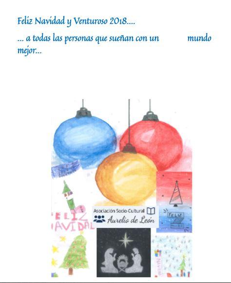 Felicitación desde la Asociación Socio-Cultural Aurelio de León