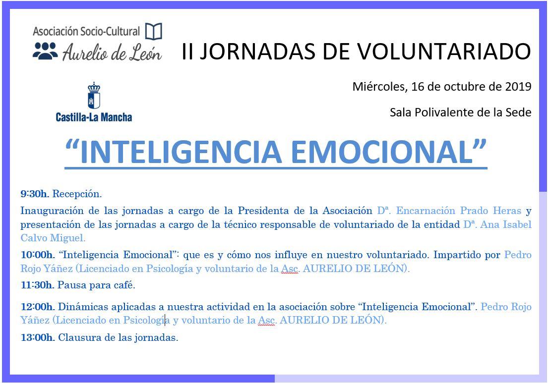 II Jornadas Voluntariado «Inteligencia Emocional»