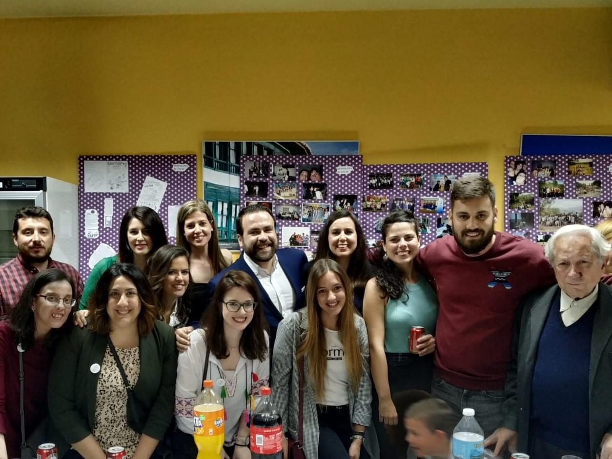 La Asociación Socio Cultural Aurelio de León celebró el 25 aniversario de su sección juvenil